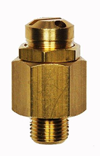 """Sicherheitsventil-Mini, Überdruckventil einstellbar 6-12 bar, G1/4\"""""""