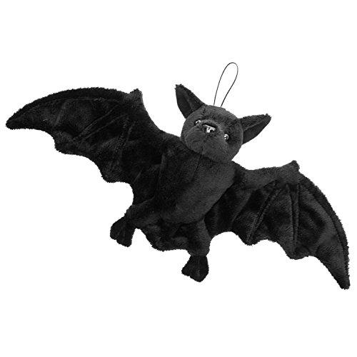 Mad Moonshine Cornelißen - 1017221 - Fledermaus, Plüsch, schwarz, mit Aufhänger, ca. 34cm