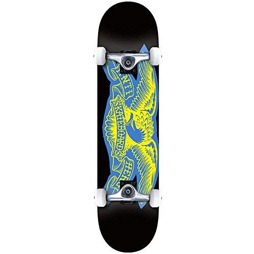 Anti Hero Copier Eagle Xl Factory - Skateboard completo, 21 cm, colore: Nero