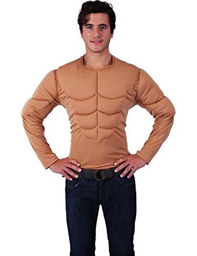 ORION COSTUMES Costume de déguisement de superhéros dメenterrement de vie de garçon grossier avec le torse de Monsieur Muscle pour hommes