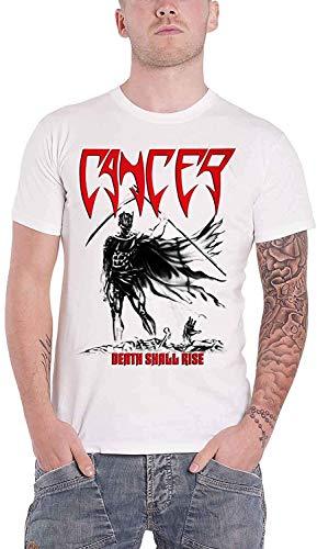 Sareesper Cancer 'Death Shall Rise' (White) T-Shirt (Medium)