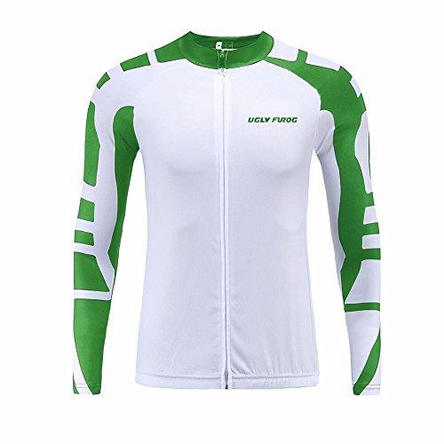 Uglyfrog Nuevo De Primavera Ciclismo Maillot Hombres Jersey Culote Pantalones Largos Mangas Largas Ciclismo Ropa Maillot para Deportes al Aire Libre Ciclo Bicicleta