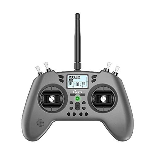 Jumper-XYZ T-Lite 16CH Hall Sensor Gimbals CC2500/JP4IN1 Multi-Protocol RF System OpenTX Mode2 Transmitter Support Jumper 915 R900/CRSF Nano for RC Drone (Left Hand Throttle,JP4IN1)