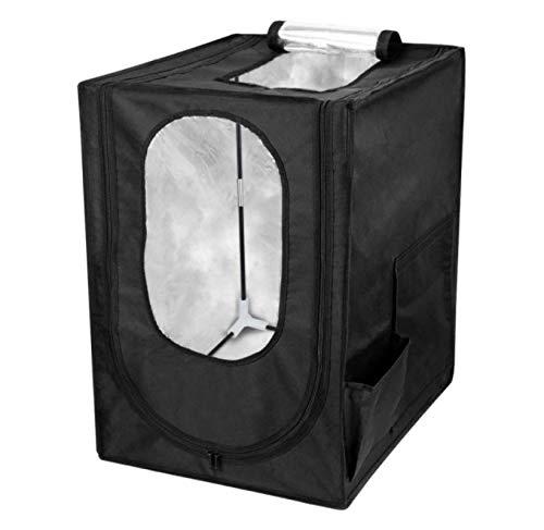 HJQL Cubierta De Impresora, Caja De Impresora 3D, Impermeable A Prueba De Polvo Bolsa Ignífuga Temperatura Constante Insonorizada Carpa A Prueba De Polvo para Sala De Impresión 3D (48Cmx60Cmx72Cm)