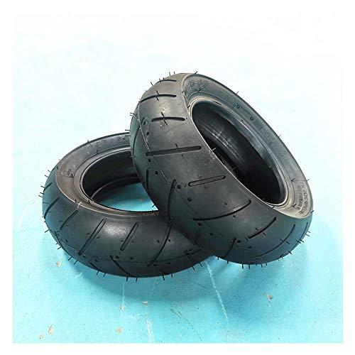 DLILI neumáticos de Scooter eléctrico, neumáticos de vacío engrosados de 11 Pulgadas 90/65-6.5, neumáticos Antideslizantes Resistentes al Desgaste, Accesorios para neumáticos de Scooter eléctr