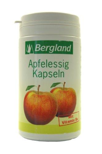 Bergland 49030 Apfelessig Kapseln 60er