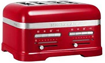 KitchenAid Artisan 2500W 4-Slice Toaster-Empire Red (Model:5KMT4205BER)