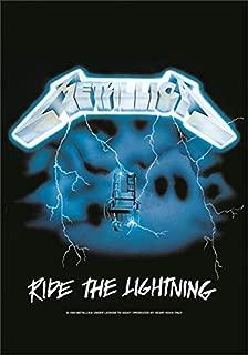 Metallica Poster Ride The Lightning Official Textile 75Cm X 110Cm