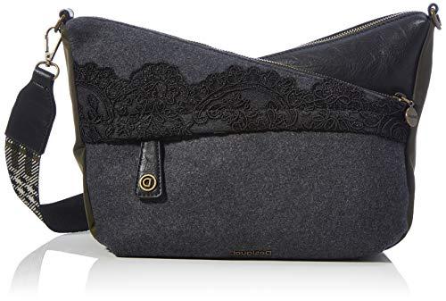 Desigual Womens Accessories Fabric Across Body Bag, Black, U