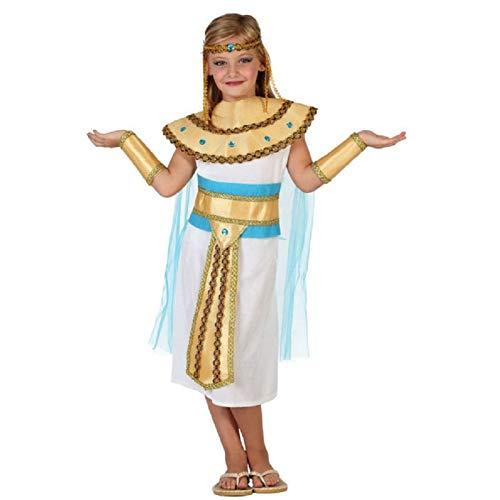 DISFRAZ EGIPCIA NIÑA INFANTIL DORADO