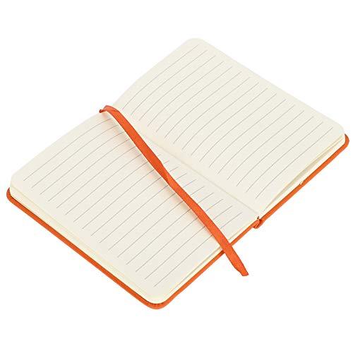 Wosune Bloc de Notas, Tinta de Cuaderno para Escribir para Diario para Diario de gratitud para Notas de Oficina(Naranja)