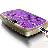 QHH Máquina de vibración para Mujeres Lazy Fat Burning Home Sports Abdomen para Bajar de Peso Belly Stovepipe Equipment (púrpura)