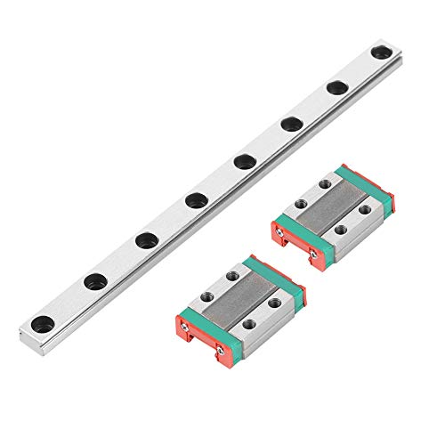 MGN9B 150mm Linear Guide Rail,3D Printer Slide Rail,Rail Width 9mm,with 2*MGN9B Linear Guide Block,for most automatic equipment and CNC Machine