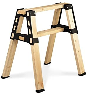 2x4basics 90196 Custom Pro Brackets Sawhorse – 2 Pack