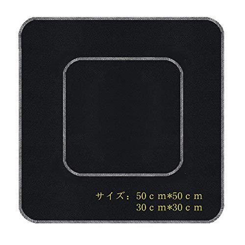 不燃シート バーナーシート OBOR カーボンフェルト(50cm×50cm+30cm*30cm)両個セット ガラス繊維 溶接マット...