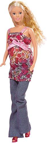 Simba 105734000 - Steffi Love schwangere Puppe, 13 Teile