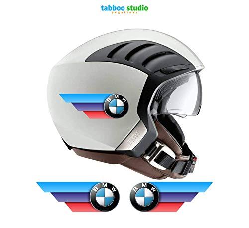 Adhesivos pegatinas tricolor casco motorrad compatible