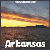 Arkansas Calendar 2021-2022: April 2021 Through December 2022 Square Photo Book Monthly Planner Arkansas small calendar