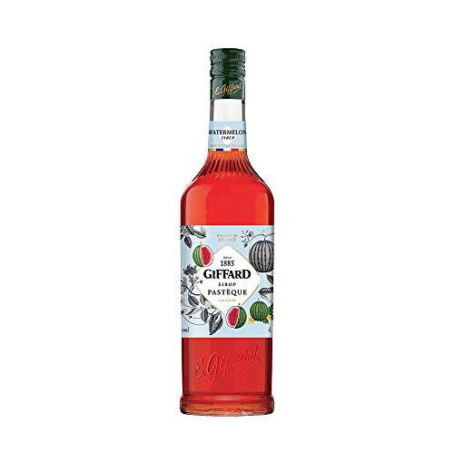 GIFFARD Bar Sirup 1,0 l - Sirup WASSERMELONE zum Mixen Mixgetränke / Cocktails