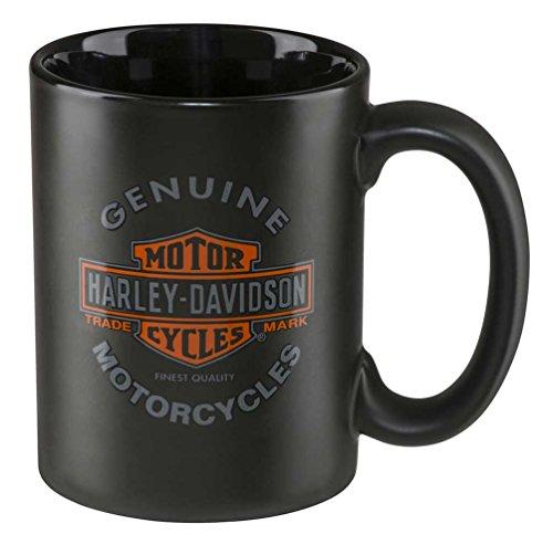Harley-Davidson Core HDX-98606 Kaffeetasse, Motorräder, 425 ml, Schwarz
