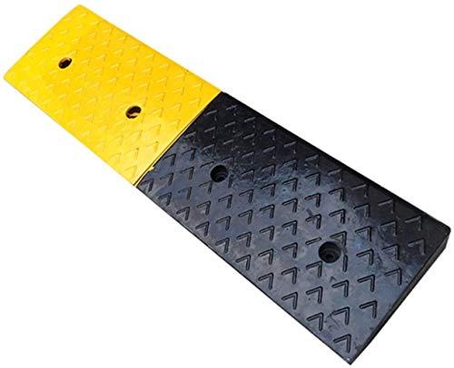 Rampa de acera Rampas de goma, rampas de acoplamiento de automóviles Mobility Scooter Ramps Accesorios de viaje de automóvil Vehículo Portada portátil Pad Rampa de seguridad ( Size : 100*25*6CM )