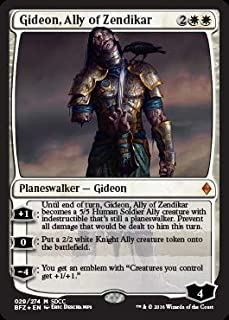 Magic: The Gathering - Gideon, Ally Zendikar - 029/274 - SDCC 2016 Exclusive Promo