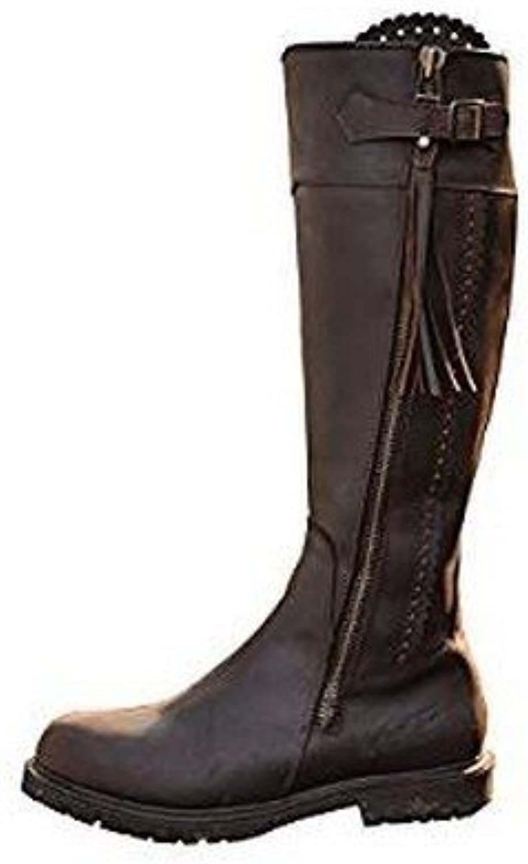 Mark Todd Womens Ladies Tall Masterton Boots