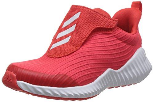 Adidas Fortarun AC K, Zapatillas de Deporte Unisex para Niños, Rojo (Roalre/Ftwbla/Roalre 000) , 33.5 EU