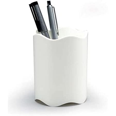 Durable 1701235010 Porte-crayons Trend, 1 pièce, blanc
