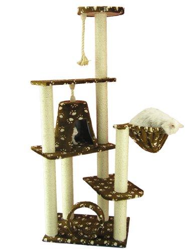 ARMARKAT Gato árbol Muebles condominio, Altura 152,4cm a cm