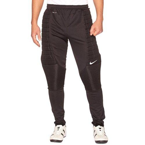 Nike Herren Hose Padded Goalie, Black/White, M