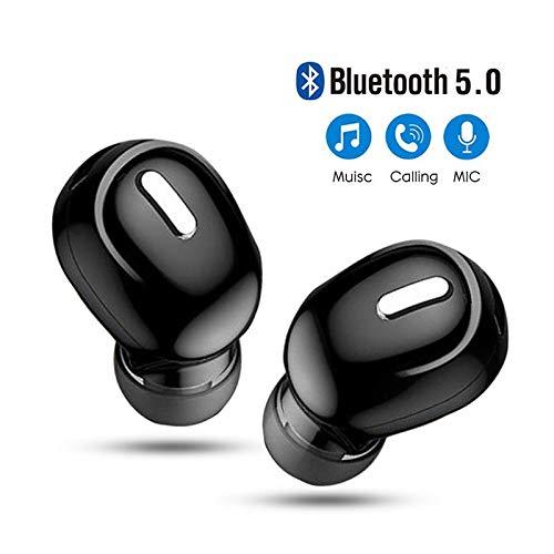 Mini in-ear 5.0 bluetooth oortelefoon hifi draadloze headset met microfoon Sport oordopjes Handsfree stereo sound koptelefoon voor alle telefoons