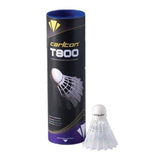 Carlton T800 Fast Speed Badminton Shuttle White