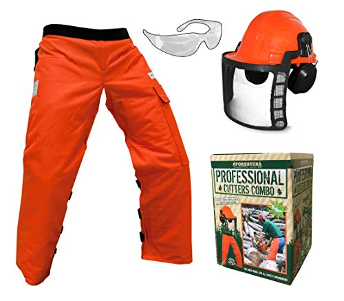 Forester OEM Arborist Forestry Professional Cutter's Combo Kit Chaps Helmet FORCHG