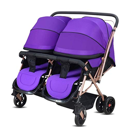 Great Deal! Baby Strollers, Baby Strollers, Twin Baby Strollers Can Sit Flat and Carry Two-Way Foldi...