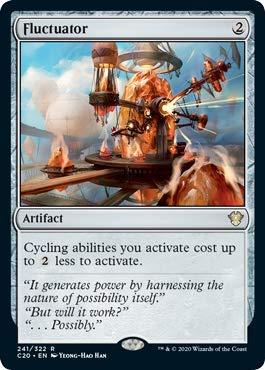 Magic: The Gathering - Fluctuator - Commander 2020