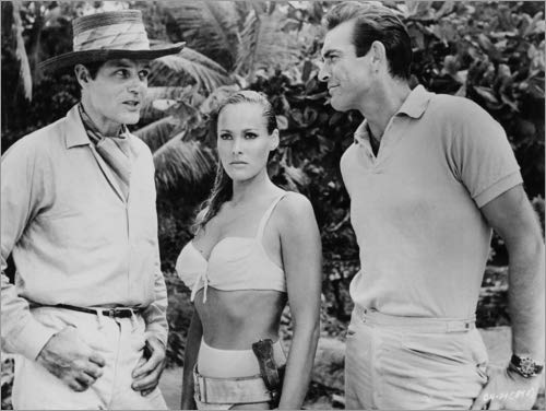 Poster 80 x 60 cm: Jack Lord, Ursula Andres And Sean Connery in Dr. No di Entertainment Collection - Stampa Artistica Professionale, Nuovo Poster Artistico