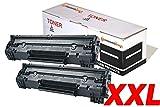 CVT- Pack 2 Toner Compatibles CF279A XL 79A (2.500 Pág) para HP LaserJet Pro MFP M26 M26nw M26a HP LaserJet Pro M12 M12w M12a