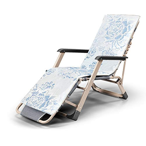 Xiao Jian- Chaise Pliante-Bureau Chaise Pliante Pause-déjeuner Inclinable Chaise Pliante Siesta Chaise Home Inclinable Simple Lit Sofa Chaise Simple Chaises de Jardin (Color : J)