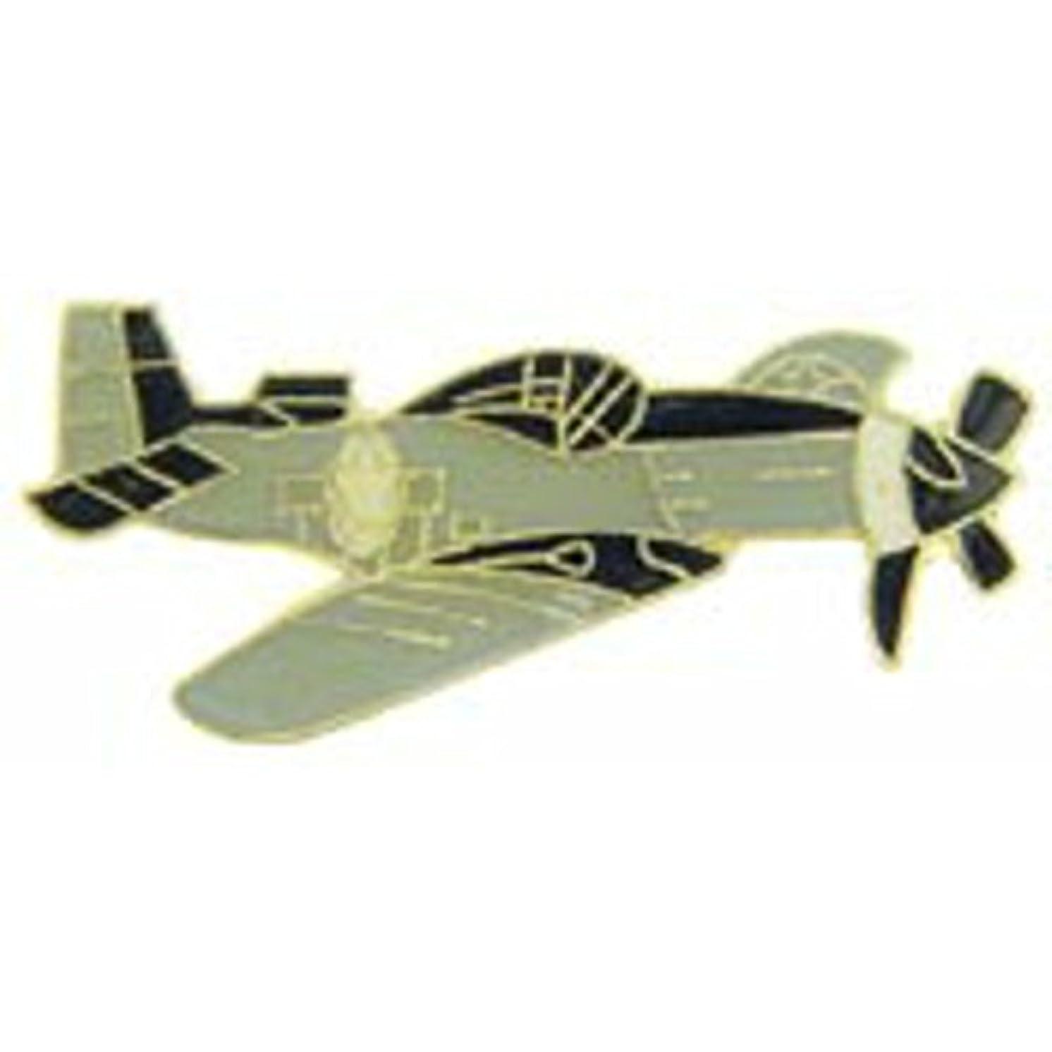 EagleEmblems P62301 Pin-Apl,P-51 Mustang,Gry (1.5'')