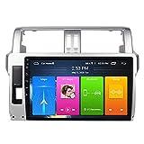 Reproductor multimedia de radio de coche con pantalla táctil Android 8.1 de 9 pulgadas, para Toyota Prado 2014 – 2017, FM/RDS/Bluetooth/SWC/Mirror Link/Cámara de visión trasera