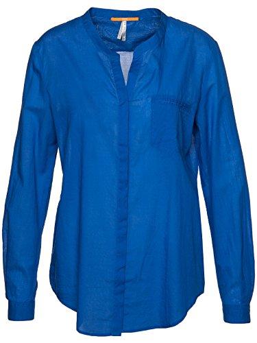 BOSS Orange Bluse Efelize_6 50308370 Damen, Blau, 38