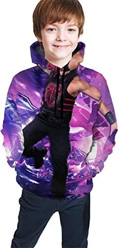 YeeATZ Children's Hoodies Ro-Man -Reigns - Sudadera unisex con capucha para niños, niñas, adolescentes y niños