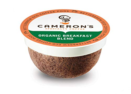 Cameron's Coffee Single Serve Pods, Organic Breakfast Blend, 12 Count...