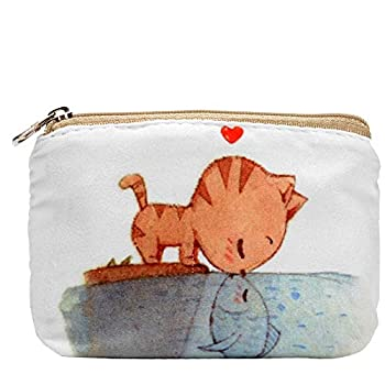 Women and Girls Cute Fashion Coin Purse Wallet Bag Change Pouch Key Holder  Love