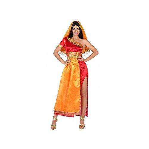 Atosa-22786 Disfraz Hindú, color naranja, M-L (22786)