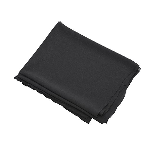 Panno altoparlante tessuto gille stereo maglia stoffa per l'audio 1.7m x 0.5 m(Nero)