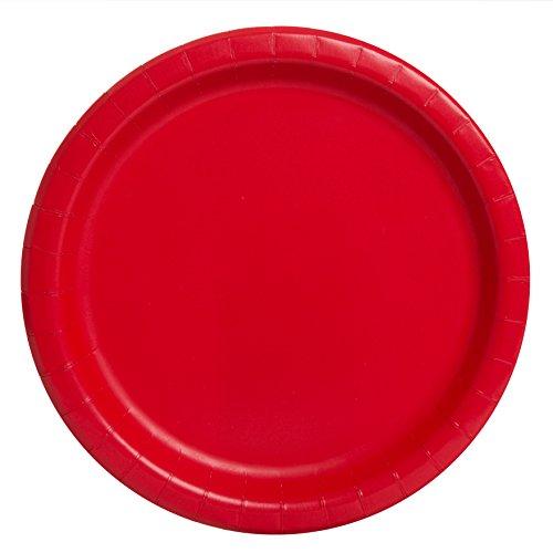 röda tallrikar ikea