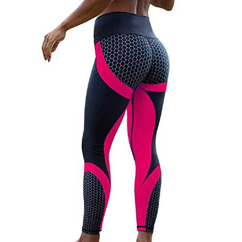 Ducomi MEG Leggings Sportivi per Donna - Vita Alta Snellente e Push Up sui Glutei per...