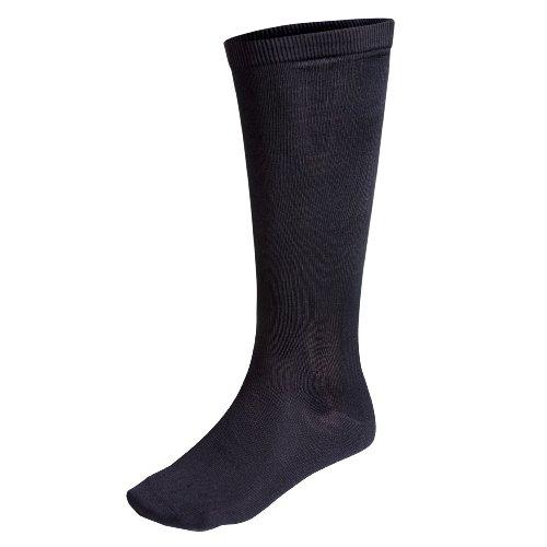 Terramar Thermasilk Sock Liner, Black, Medium